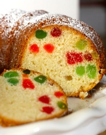 Gumdrop Cake With Cream Cheese